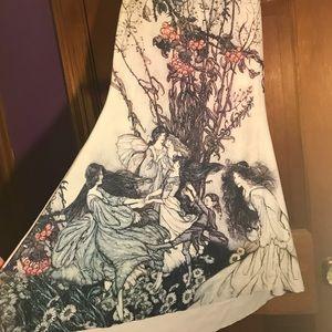 Blackmilk Fairy book play dress in XL